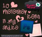 10 Photoshop Icons