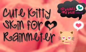 Cute Kitty Skin Rainmeter