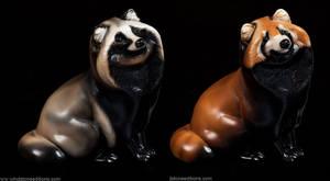 Tanukis Red panda And Natural