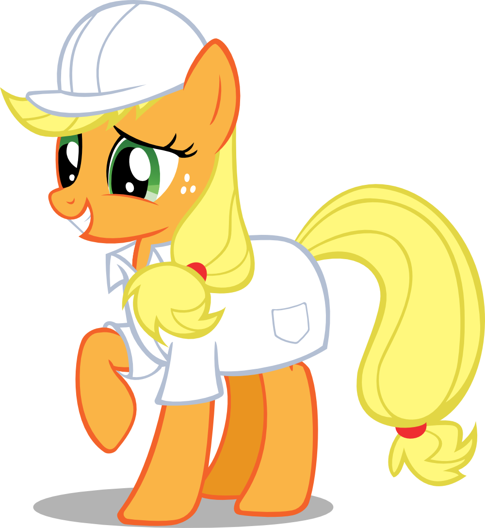 Request - Factory Applejack by Kopachris
