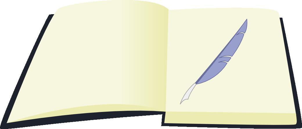 OC cutie mark - Book and pen by Kopachris