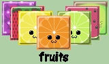 Free Icon Pack -- Fruits by Sibigtroth