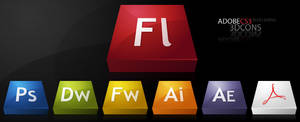 3DCons :: Adobe CS3 Dock Icons