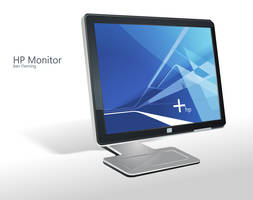 HP Monitor Dock Icon by MediaDesign