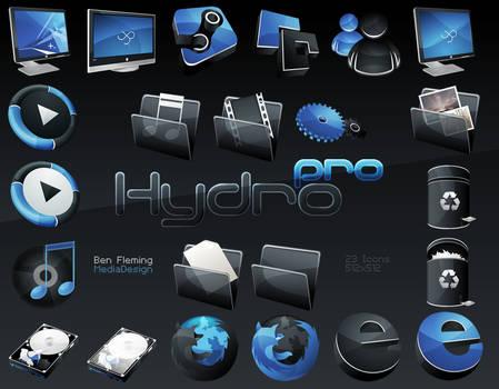 HydroPRO -HP- Dock Icon Set