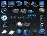 HydroPRO -HP- Dock Icon Set
