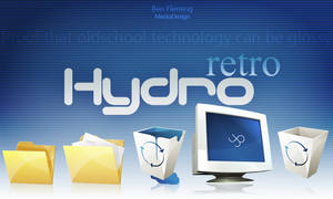 HydroRETRO -HR- Dock Icon Set