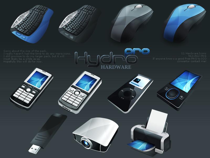 HydroPRO -HP- Hardware Set