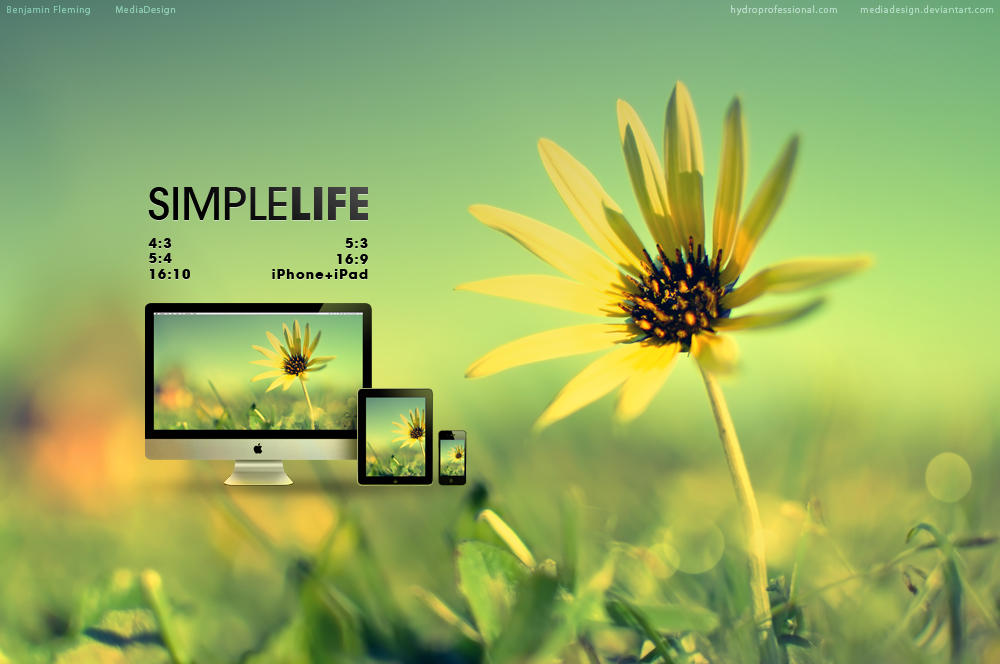 Simple life wallpaper by mediadesign on deviantart simple life wallpaper by mediadesign thecheapjerseys Images