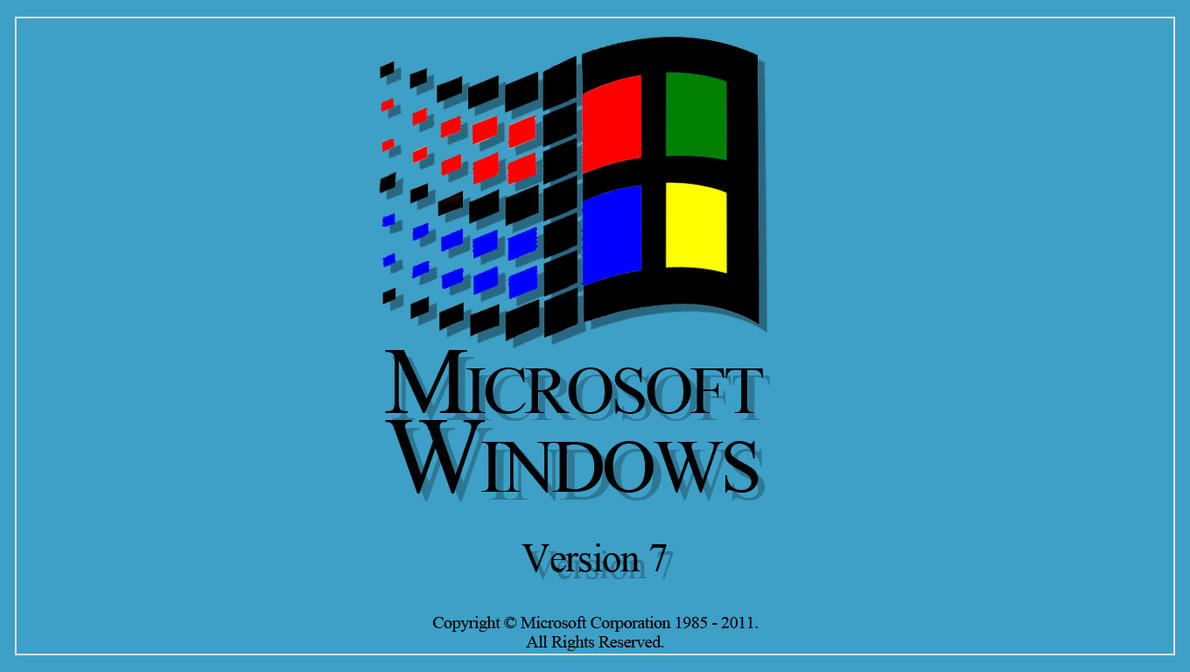 Windows 3 Startup PSD by VERTEX768MHz
