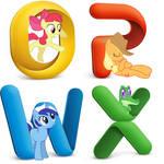 Microsoft Office 2011 Pony Icons
