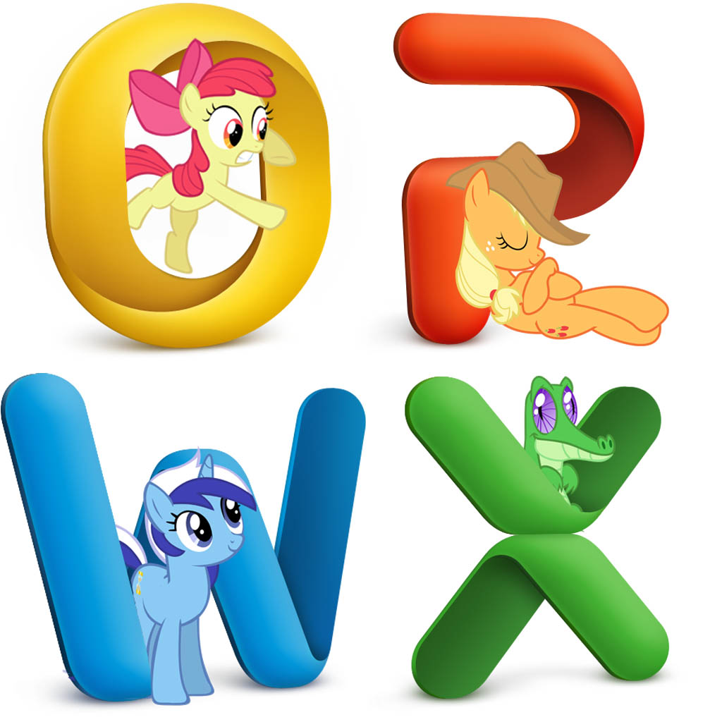 microsoft office 2011 pony icons by snoopy20111 on deviantart