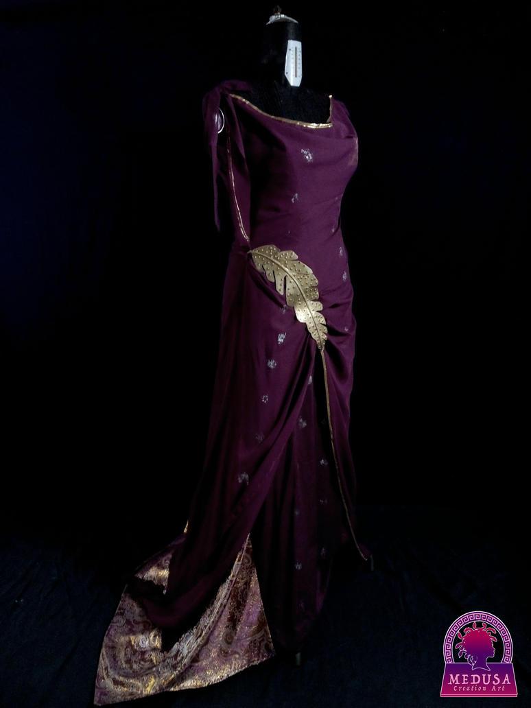 Lucretia Batiatus Roman style Gown by MedusaCreationArt on DeviantArt