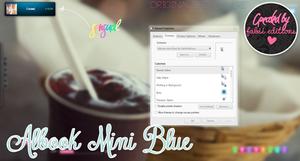 Albook Mini blue