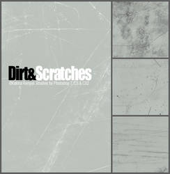 Dirt and Scratches Brushset