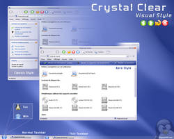 Crystal Clear Visual Style by dlb-