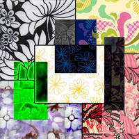 Abstract Flowers by PadgettFarm