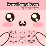 kawaii emoticons