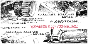 Typewriter-2013 by egg9700