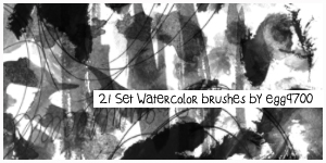 2014-Watercolor brushes-02 by egg9700