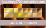 GRD07-16 Gold