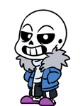 Sans Page Doll