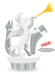 MLP Vector Statue 02 by Mr-Spider-The-Bug