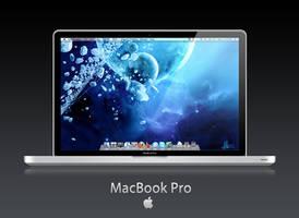 MacBook Pro Aluminum PSD by evanren