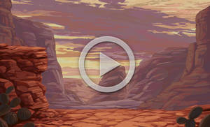 Armadillo Bounce Animation