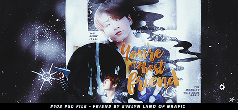 #003 - Friend by Evelyn Land of grafic by youwakeup