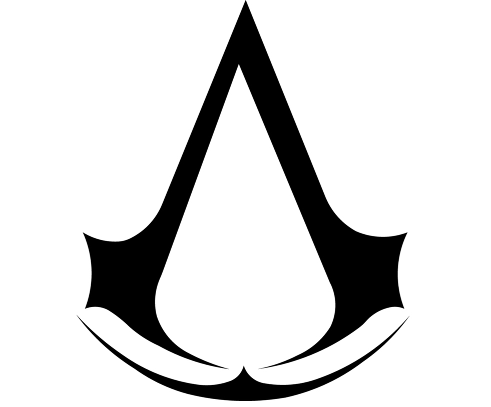 Assassins Creed Symbol Black By Assassinhedgehog On Deviantart