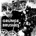 Grunge Brushes by mayan-art