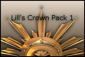 Crown Pack 1 by Lill-stock