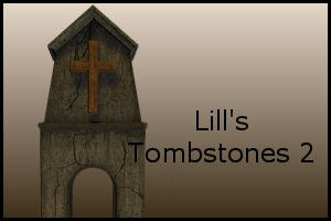 Tombstone pack 2 by Lill-stock