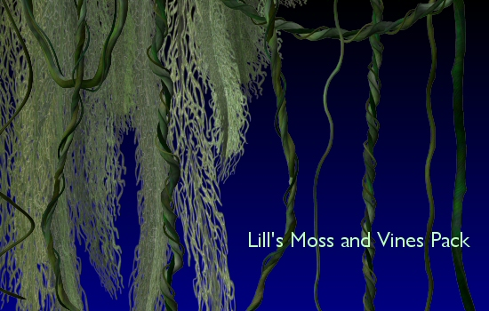 Moss and Vines Pack