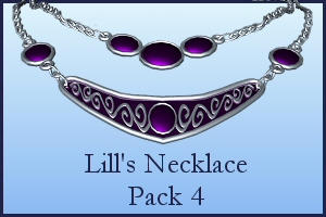 Necklace Pack 4 by Lill-stock