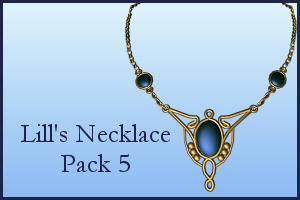 Necklace Pack 5 by Lill-stock