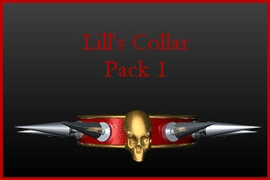 Collar Pack 1 by Lill-stock