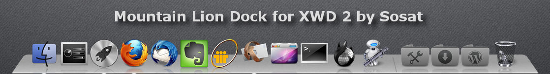 Mountain Lion for XWD 2 only