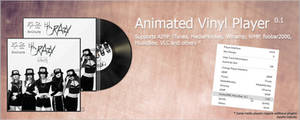 Animated Vinyl Player 0.2 - Now Supports Spotify!