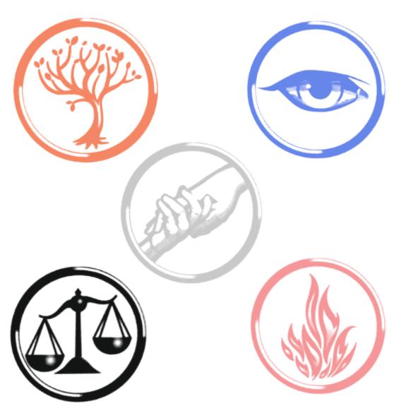 Divergent Faction symbols brush set by xSavannahxx