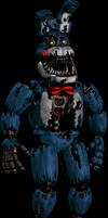 Nightmare Toy Bonnie - FNaF 4 Style