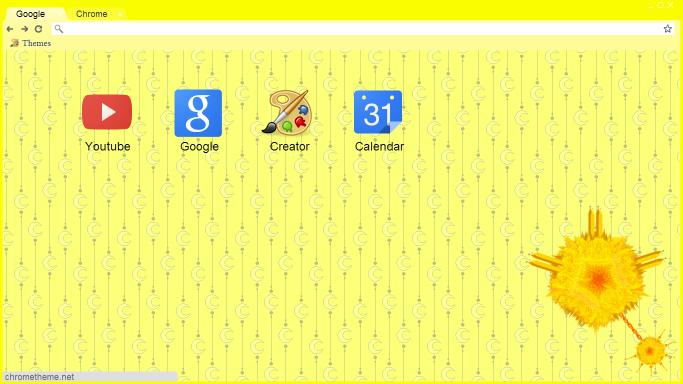 Homestuck Prospit Google ChromeTheme by RhymeReason