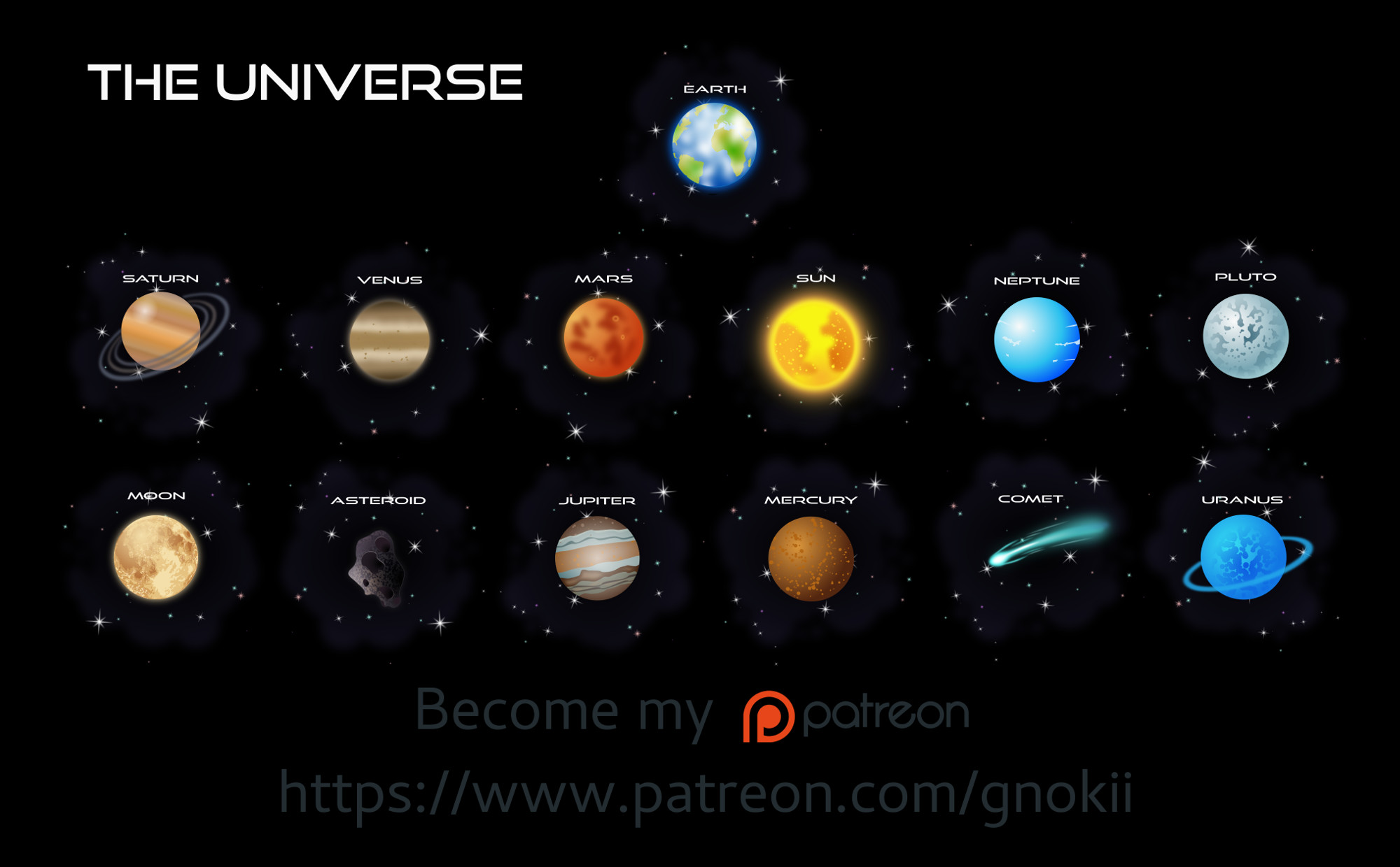 Universe by gnokii on DeviantArt