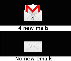 Gmail check for Rainmeter by LordCarnage666