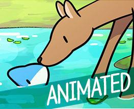 A Deer In the Lake