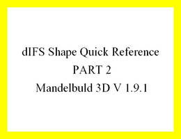dIFS Shape Quick Reference PART 2
