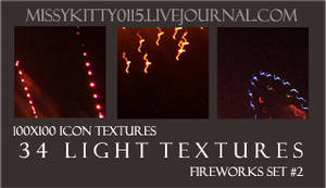 34 Firework Light Textures
