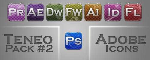 Teneo 2 Adobe Icons by xeeqqw