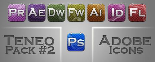 Teneo 2 Adobe Icons by xeeqqw